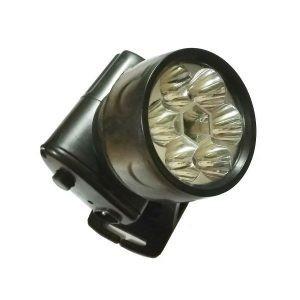 Lanterna frontala 7 Led-uri cu acumulator de 300 mAh HongYuan