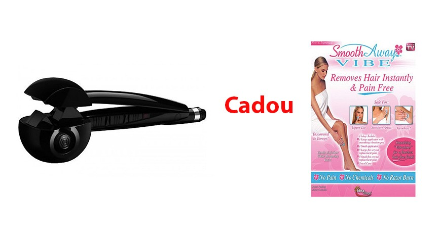 Ondulator de par BaByliss Pro Perfect Curl Cadou Epilator Smooth Away Vibe