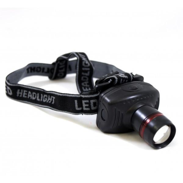 Lanterna frontala cu zoom