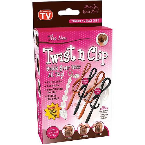 Set 4 accesorii de par Twist n Clip
