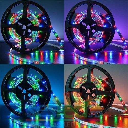 Banda cu led-uri SMD RGB