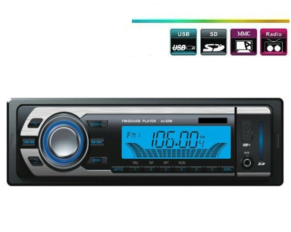 Player auto FM/SD/USB 4 x 50W - Model 399