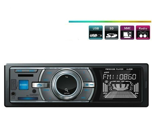 Player auto FM/SD/USB 4 x 50W - Model 396