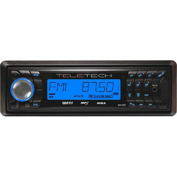 Player auto Teletech RSD5061 cu USB/SD/MMC si RadioFM