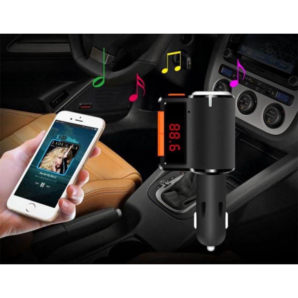 Modulator auto FM cu functie de incarcare si iesire Hands Free