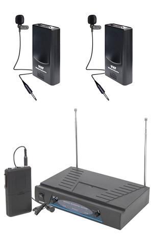 Set 2 lavaliere cu receiver NC-210
