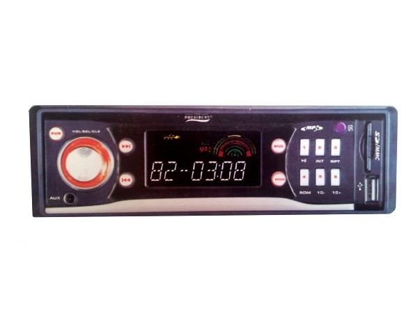 Player auto President HiFi Mp3 player RDS-4000USB/SD