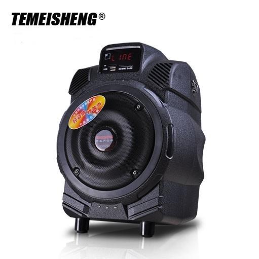 Boxa activa portabila Temeisheng Q6 cu stick USB si SD-card