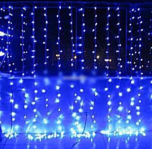 Instalatie ploaie de lumini 560 leduri