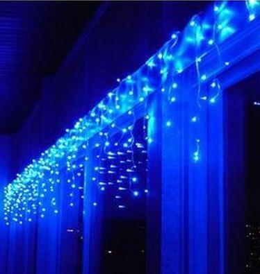 Instalatie Beculete Craciun 480 leduri albastre