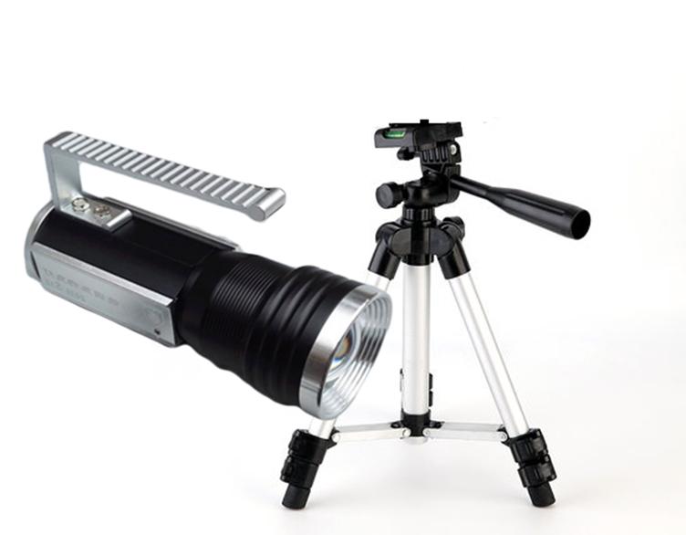 Lanterna tactica cu trepied pentru pescuit sau vanatoare T6