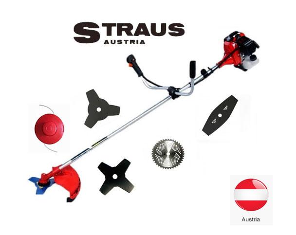 Motocoasa benzina Straus 3.5CP cu 5 moduri de taiere