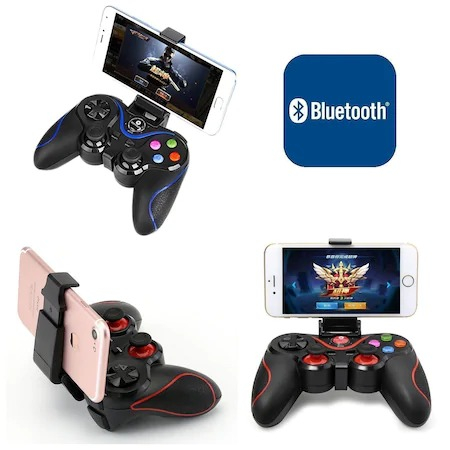 Gamepad Wireless Bluetooth Android-IOS,PS3, Windows