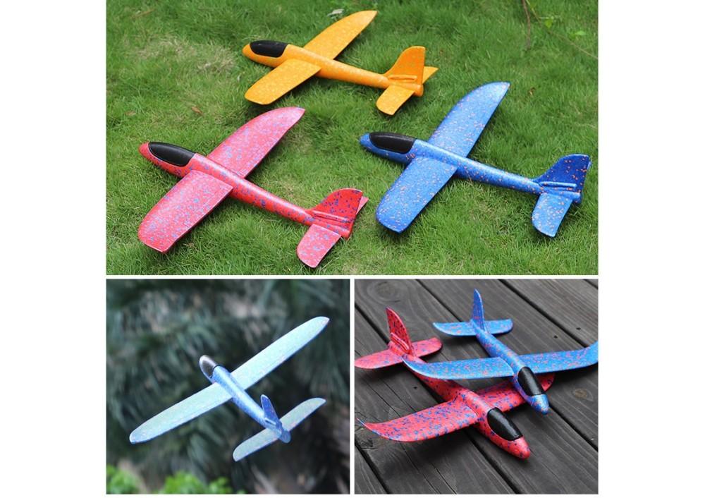 Avion planor pentru copii, cu iluminare led