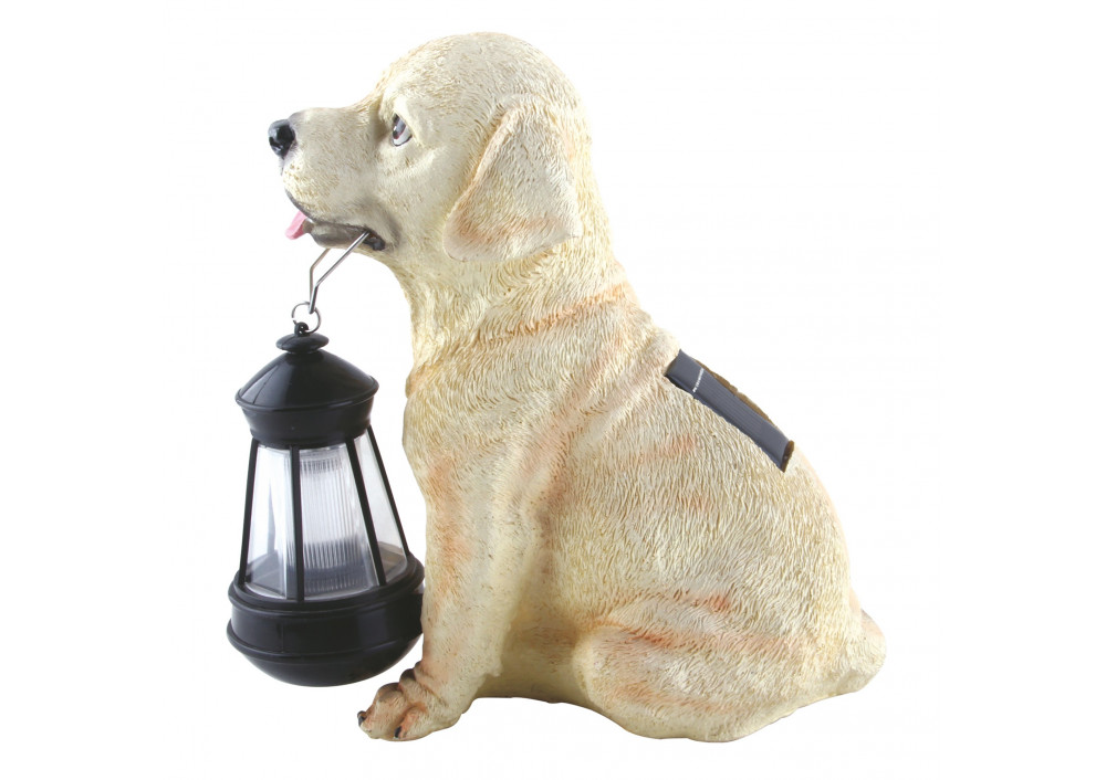 LAMPA SOLARA LED, CAINE CU FELINAR, RASINA