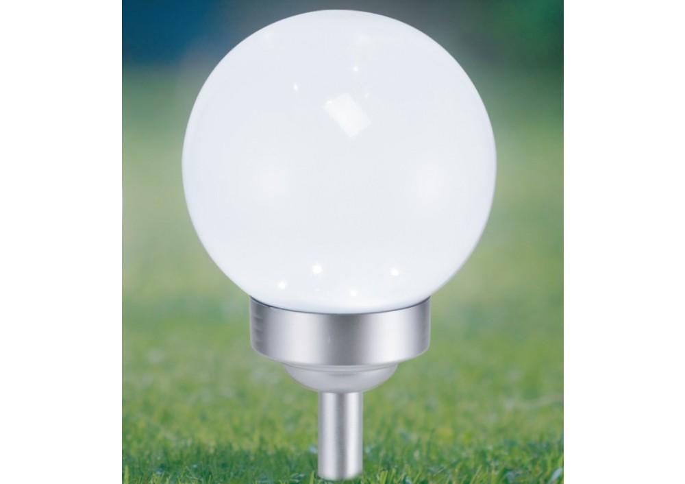 LAMPA SOLARA CU 4 LED-URI, GLOB, 2 IN 1