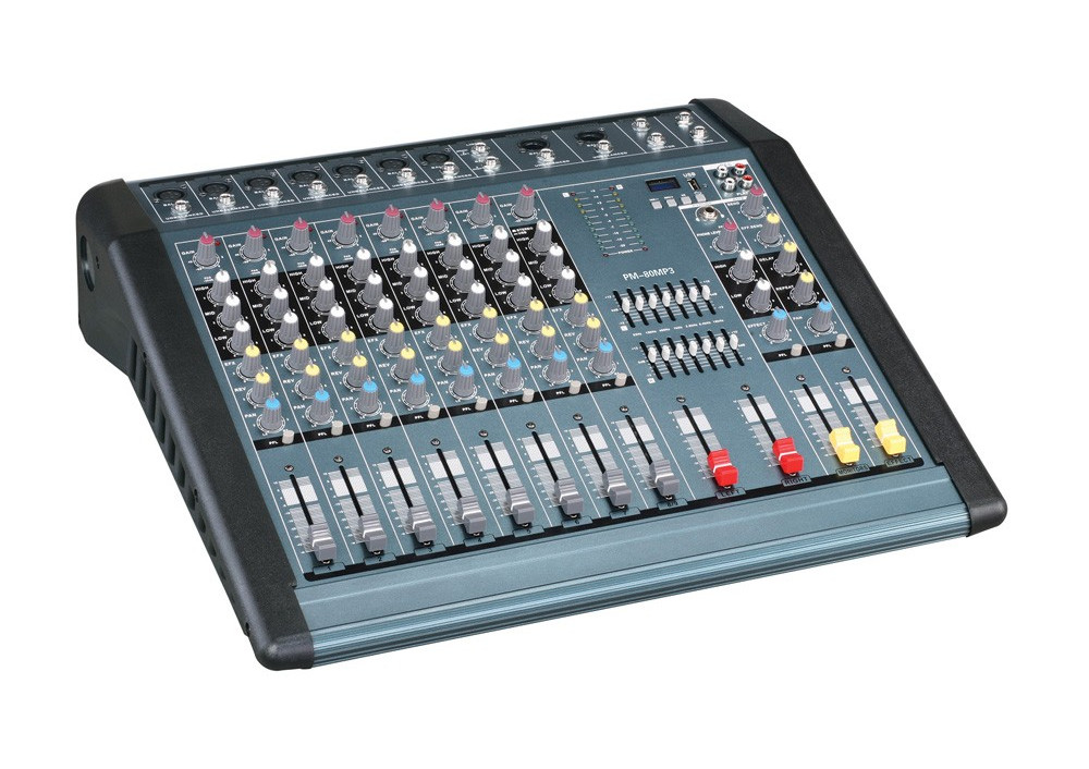 Mixer audio profesional 1300W cu efect voce Resigilat