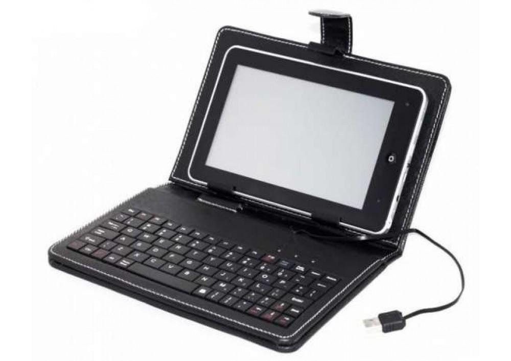 Husa tableta cu tastatura USB - 9 inch