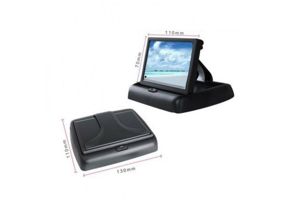 Monitor pliabil 4.3 LCD pentru camera marsarier
