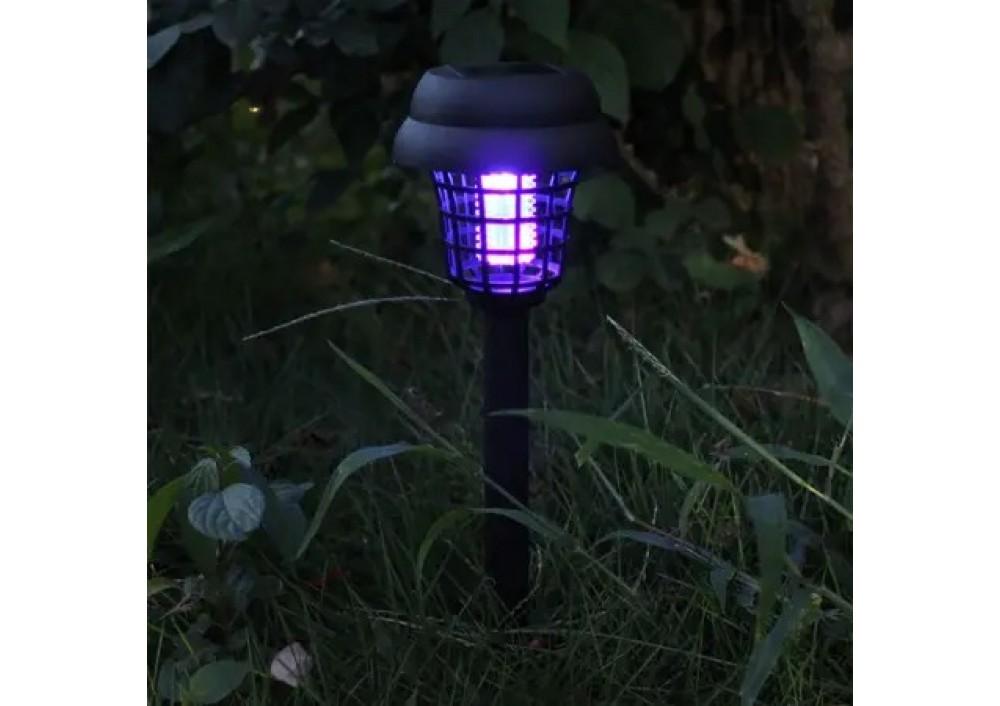 Dispozitiv anti-insecte cu ultraviolete tip felinar gradina cu LED