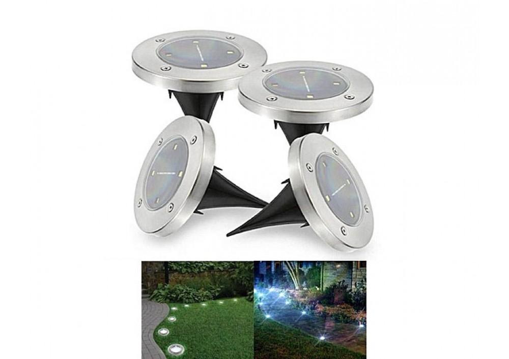 Pachet 4 lampi solare tip Spot