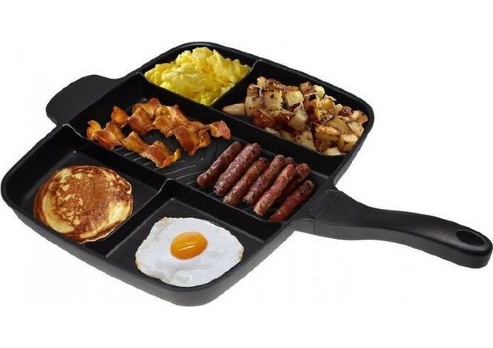 Tigaie multifunctionala inovativa Magic Pan Grill