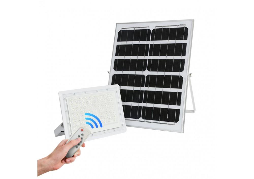 Lampa solara LED SMD, 100 W, cu telecomanda