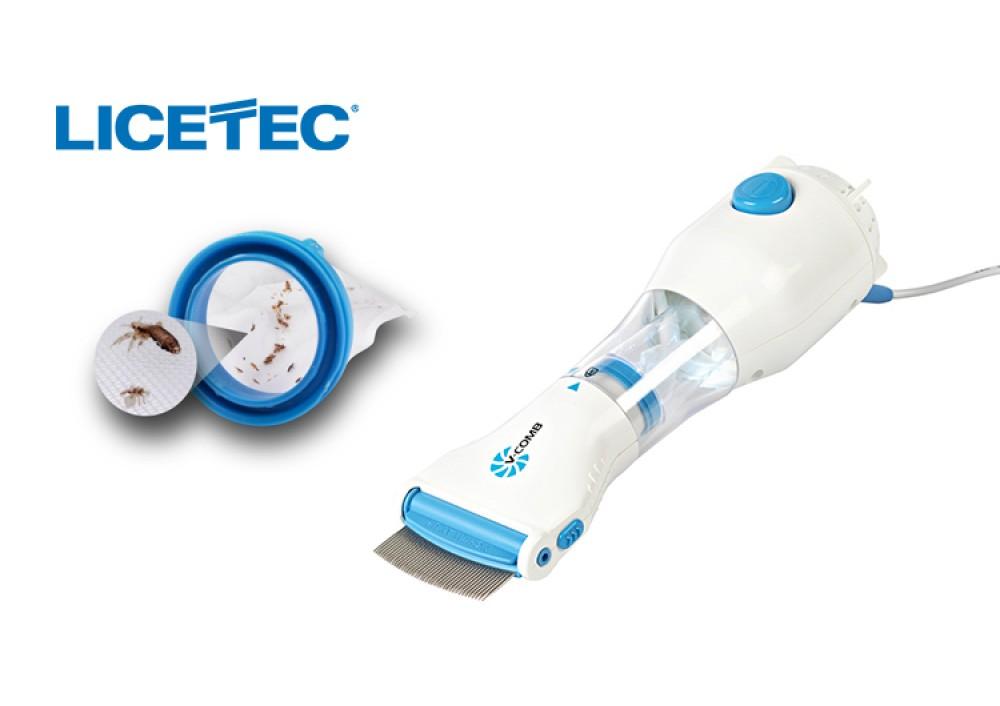 Dispozitiv tratament anti paduchi si paraziti Licetec V-Comb