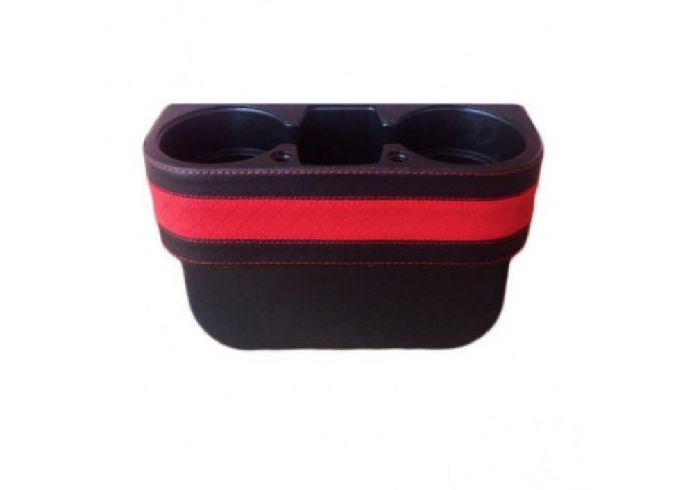 Suport auto 3 compartimente pentru pahare