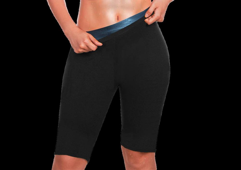Pantaloni pentru slabit, efect de sauna, pentru coapse si abdomen