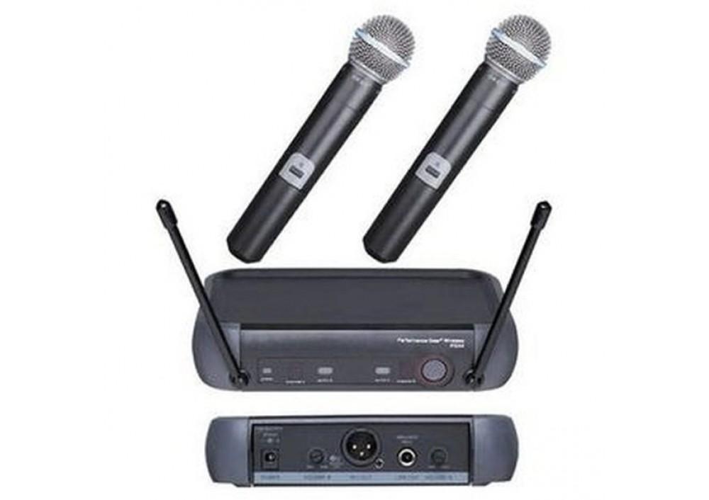 Set de 2 microfoane wireless profesionale PGX4