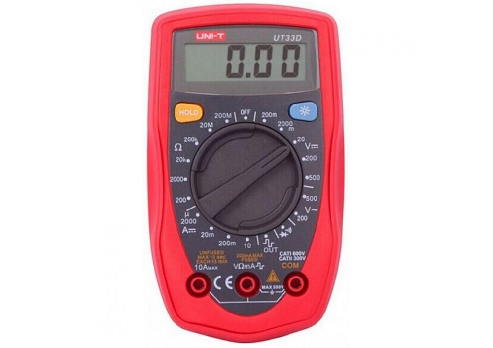 Multimetru UT33D digital cu 4 functii