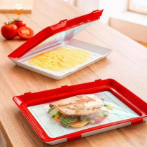 Tava speciala pentru pastrarea alimentelor proaspete, 30 cm x 22 cm x 2,8 cm