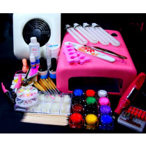 Kit pentru constructia unghiilor cu gel UV