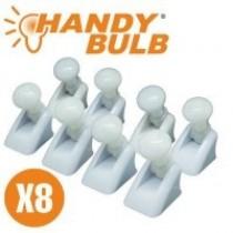 Handy Bulb set 8 becuri cu intrerupator