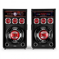 Set 2 Boxe cu Bluetooth USB Intex DJ-215 K