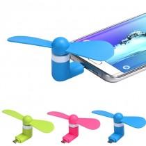 Mini ventilator portabil pentru smartphone, tableta