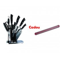 Set Cutite inox 8 piese Cadou Suport Magnetic