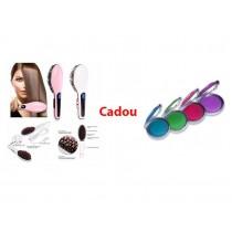 Perie pentru par ceramica cu LCD Cadou Suvite colorate Hot Hair