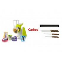 Razatoare electrica Salad Maker Cadou Set Cutite Inox