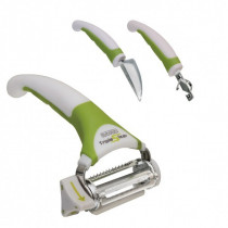 Set Triple Slicer feliator 3in1 multifunctional