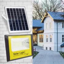 Panou solar cu proiector de 100W si telecomanda