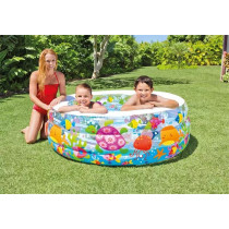 Piscina gonflabila pentru copii, Intex 58480, 157×157×122