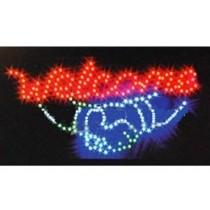 Reclama luminoasa - Welcome
