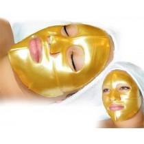 Masca hidratanta antirid cu cristale de colagen si praf de aur