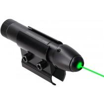 Laser verde pentru arma cu acumulator si suport