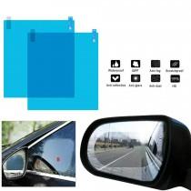 Set 2 folii universale pentru oglinzi sau geamuri auto, anti ceata, antiaburire, anti stropire