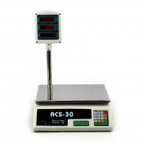 Cantar electronic comercial ACS-30 - 30kg
