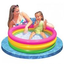 Piscina pentru copii cu baza moale, Intex 58924, 73, 86x25 cm