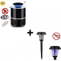 Oferta 2 dispozitive anti tantari si insecte pentru casa si gradina 1+1 cadou